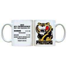 Weg Art 2017 Richmond Tigers Premiership Mug