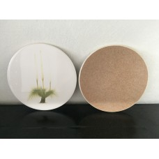 Ceramic Round Grass Tree Pot Stand / Trivet