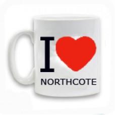 I Love Northcote Mug